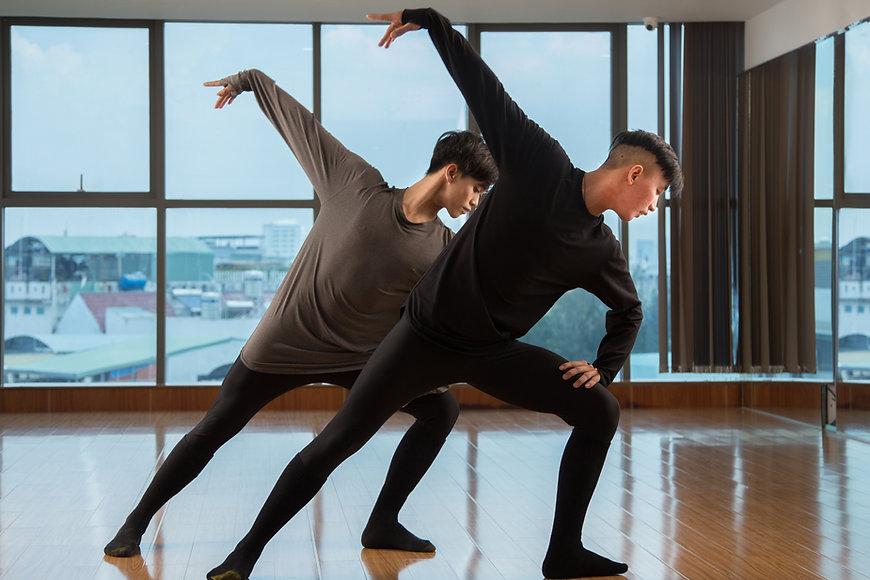 Contemporary Dance Rehearsal