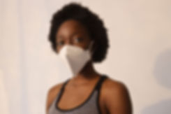 Woman with Mask