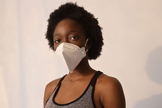 Black woman with Mask