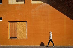 Wall naranja