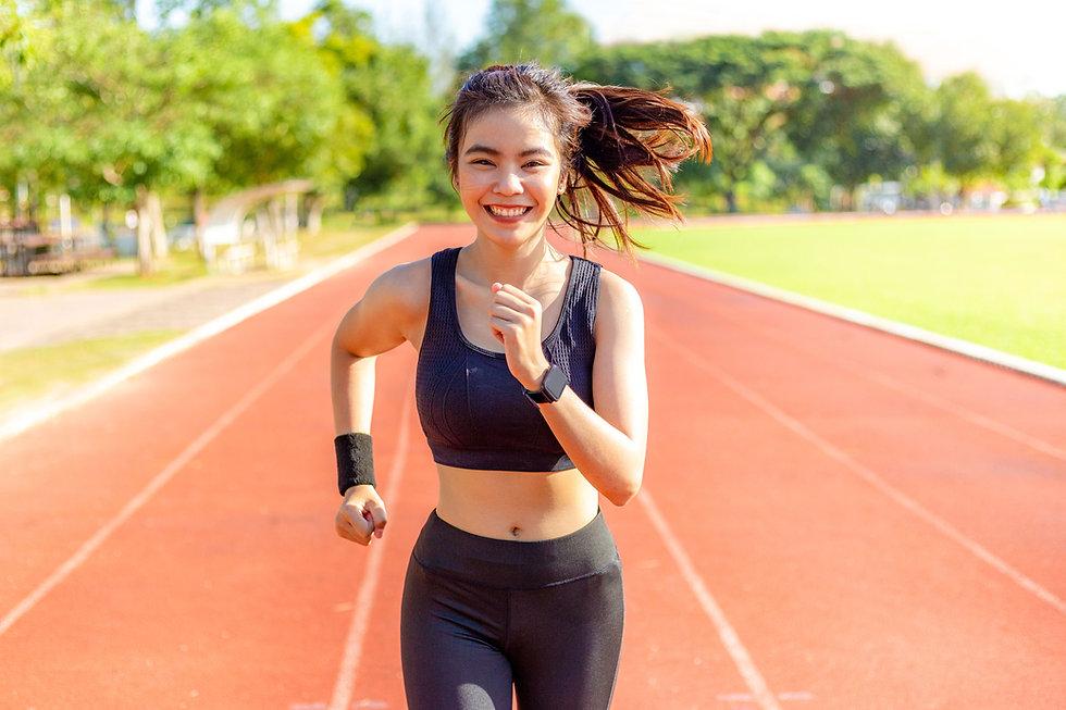 Leichtathletik-Läufer