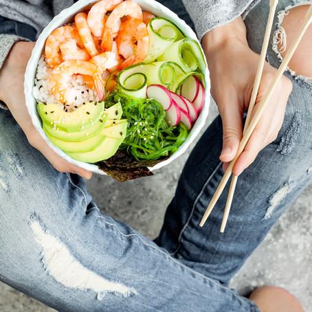 Recette: Salade / soupe thaï