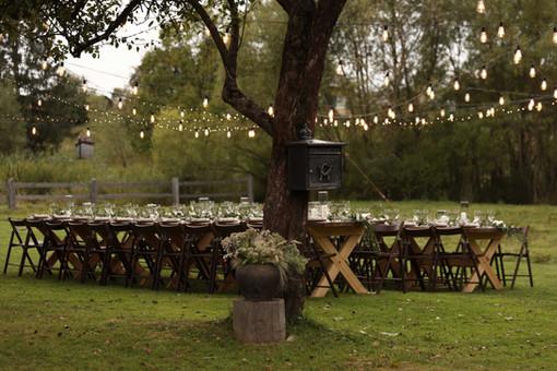 Outdoor Wedding Table