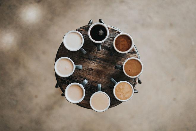 Multicolor Coffees