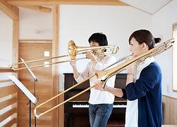 トロンボーン演奏