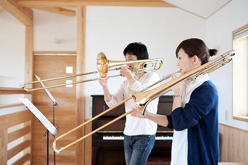 Suonare il trombone