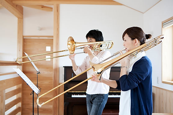 Playing the Trombone
