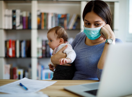 With the Pandemic, Mothers Are Taking On Even More Domestic Work, Sacrificing Careers As Well.