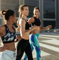 Women Running Outdoors