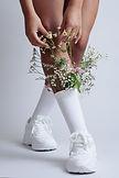 Flowers in Sock