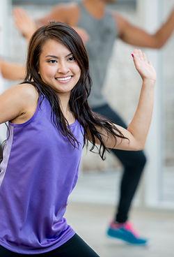 Danseur souriant