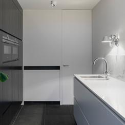 Diseño de interiores de cocina