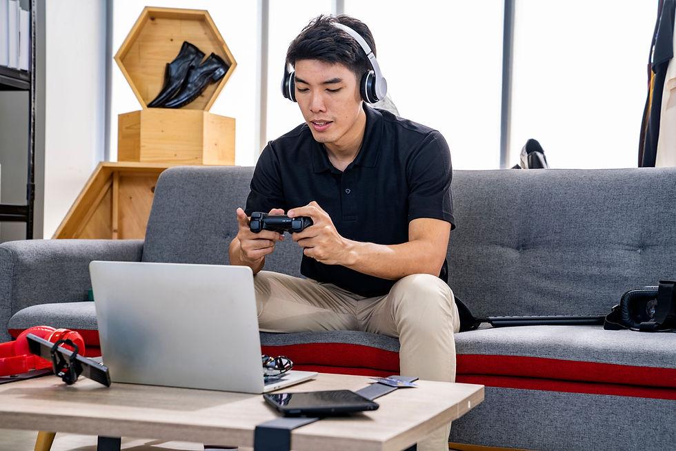 ビデオゲームをプレイする