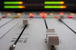 Recording studio equipment