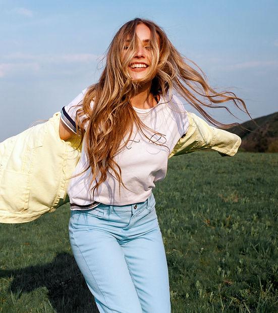 Happy Outdoor Portrait