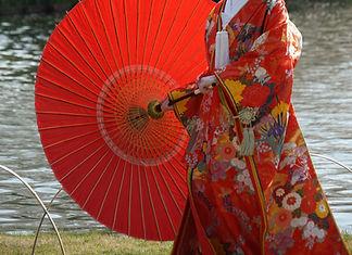 Red Flower Kimono