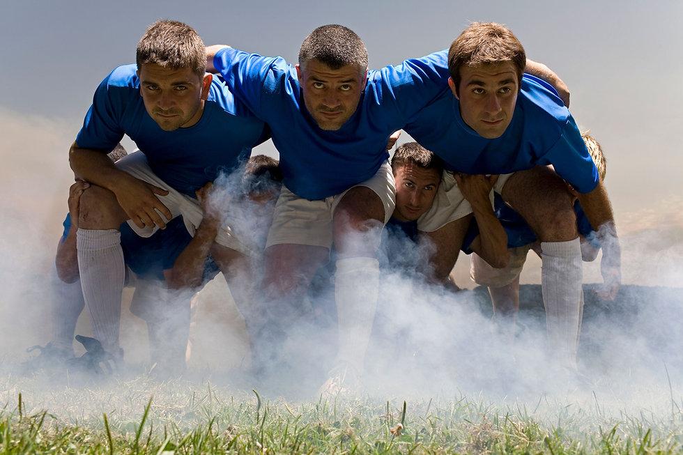 Rugby-Teamkollegen