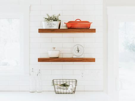 Hanging a floating shelf in 5 steps