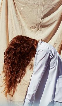 Het rode Meisje van het Haar