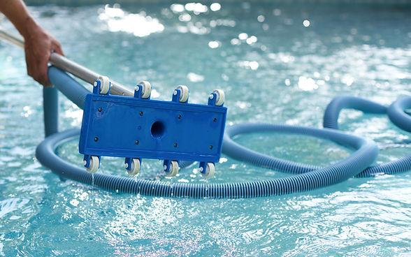 Zwembadbodemreiniger