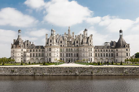 chateau, chambord, palace, luxe, monarch