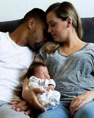 Parents with Newborn Baby