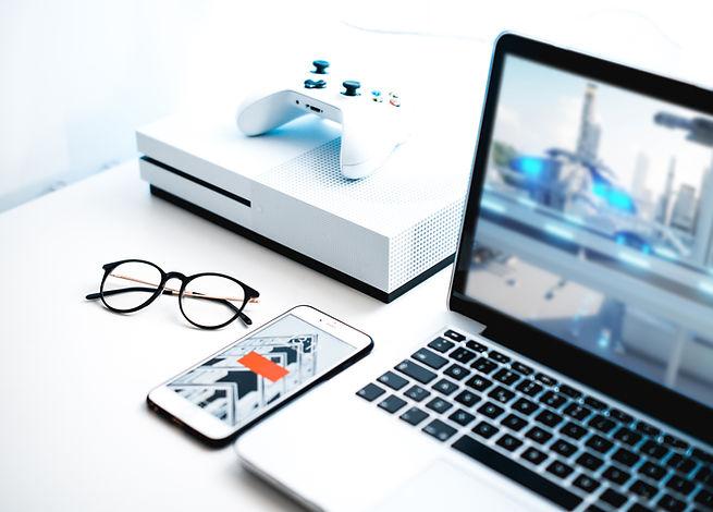 Видеоигра на экране