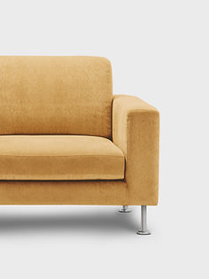 żółty Couch