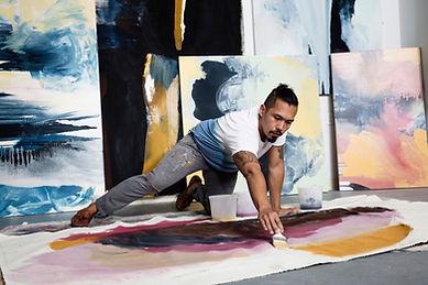 Pintor de lienzo