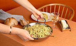 Repas de spaghettis