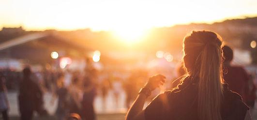 Girl Watching Sunset