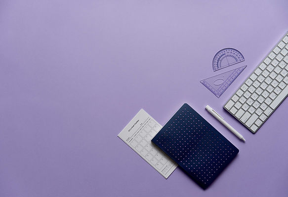 Notebook and Keyboard