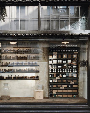 Old Shop Containing Bottles