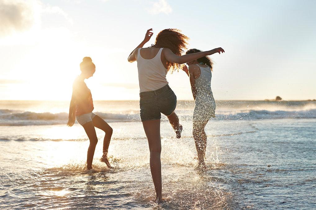 Friends at the Beach