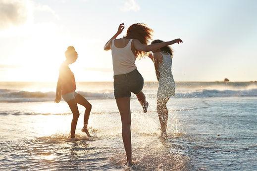 Przyjaciół na plaży