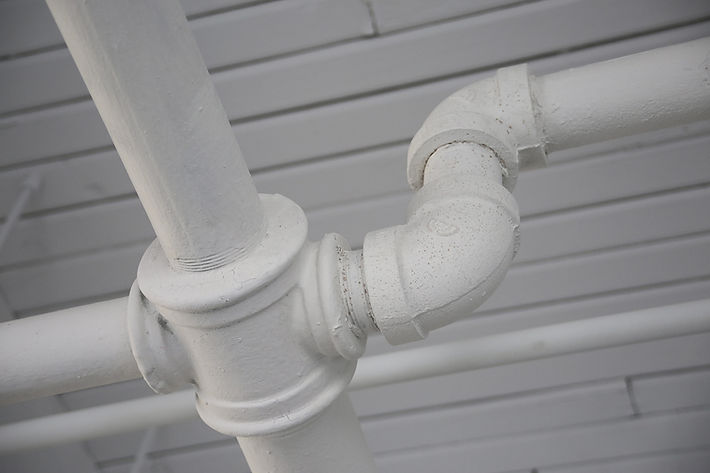 Outdoor Pluming Pipes