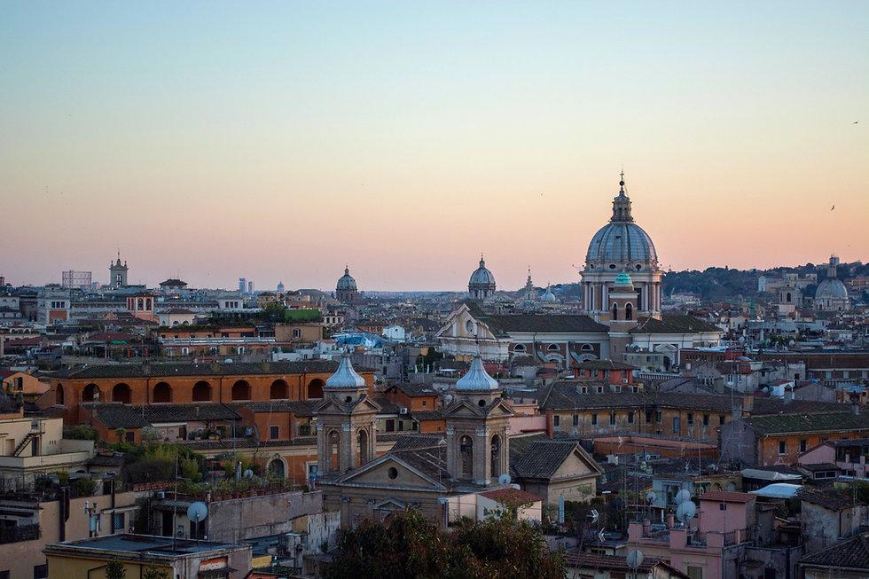 Vista su Roma