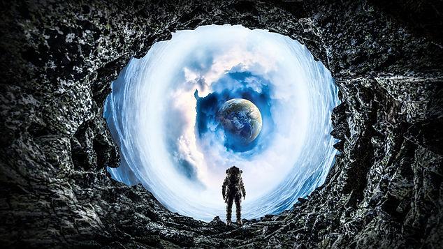 Sci-fi game artwork