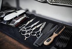 Friseur-Werkzeuge