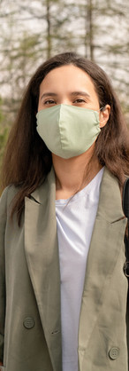 Street Fashion with Mask
