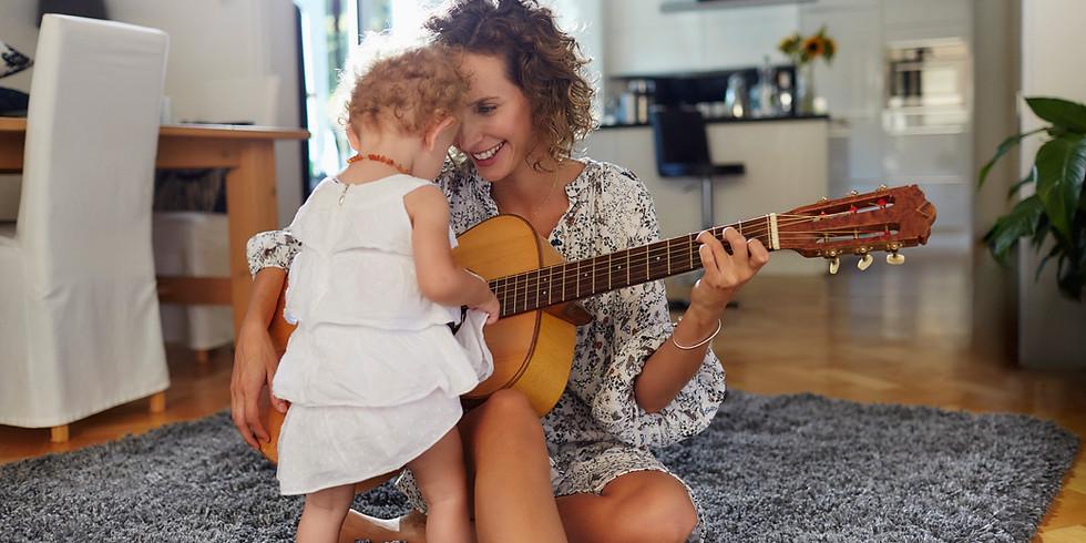 """Sesiune """"Sezatoare Muzicala-Mama""""- Editie speciala (5-8 ani)"""
