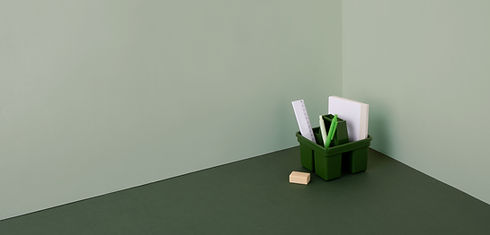 Green Theme Stationery