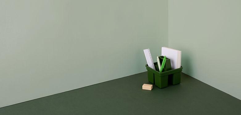 Papelaria Tema Verde