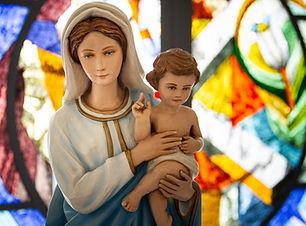 Socha Panny Marie a Ježíše