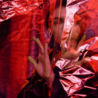 Red Plastic Portrait