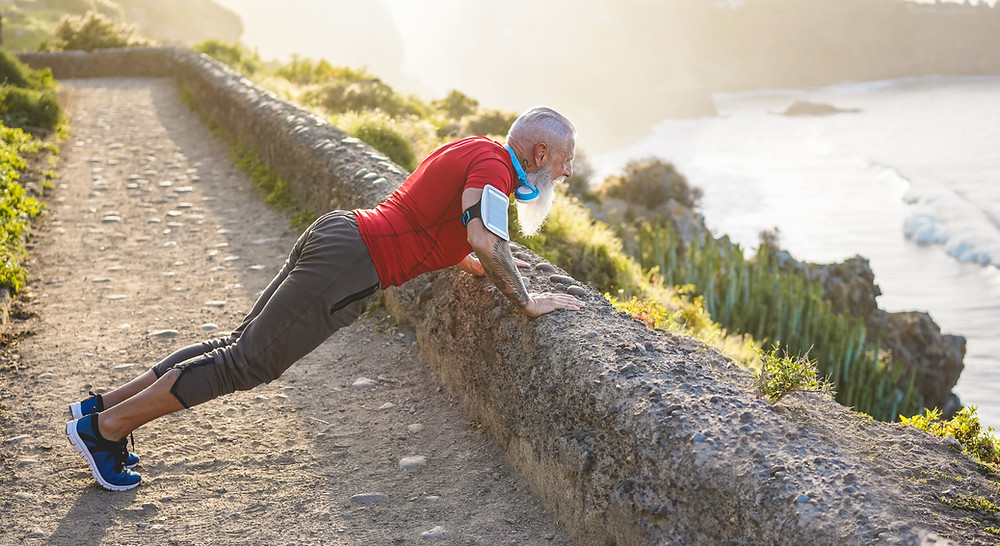 Man Planking Wellness and Prevention Chiropractor 3181