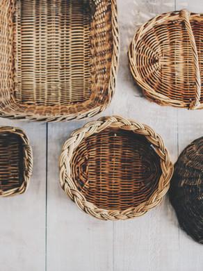 Makeover a Thrift Store Basket