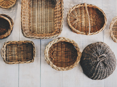 Straw Baskets