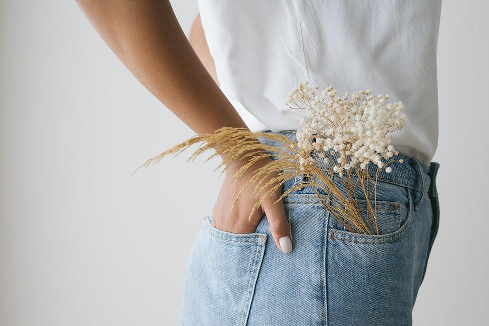 Fiori in tasca