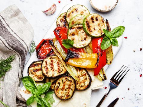 Healthy baked zucchini crisps